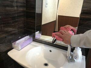 水回りの除菌清掃