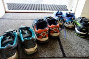玄関マット、靴の除菌消臭